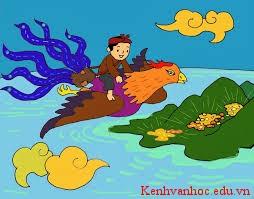 hình ảnh trong truyện Cây Khế