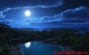 Tả lại cảnh đêm trăng mà em cho là thú vị nhất