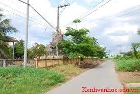 những đổi mới ở xóm làng hoặc phố phường của em