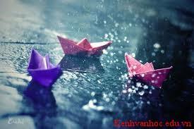 những giọt mưa