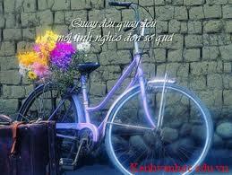 hình ảnh chiếc xe đạp