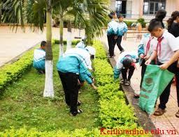 Em cần làm gì để bảo vệ môi trường sống xanh sạch đẹp