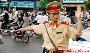 người cảnh sát giao thông