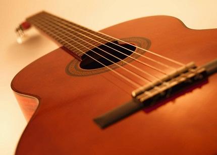 hình ảnh bất tử của tiếng đàn ghi ta