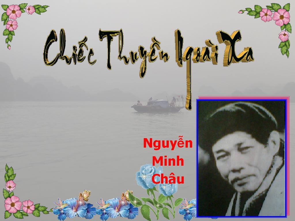 chiếc thuyền ngoài xa của Nguyễn Minh Châu