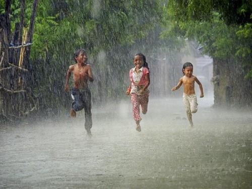 Miêu tả cơn mưa rào mùa hạ