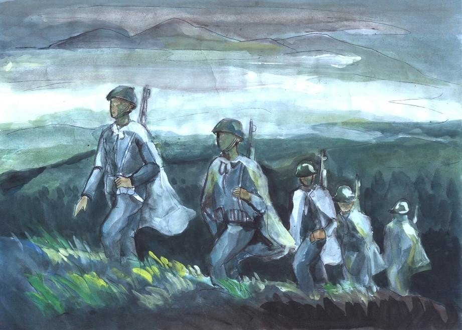 Phân tích vẻ đẹp hào hùng và hào hoa của người lính trong bài thơ tây tiến của Quang Dũng