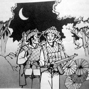 Cảm nhận về hình ảnh đầu súng trăng treo trong bài thơ đồng chí