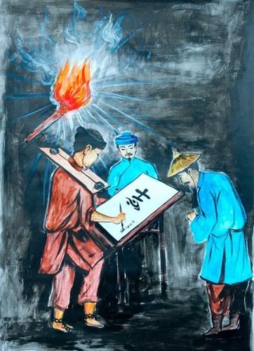 Phân tích nhân vật quản ngục trong truyện ngắn chữ người tử tù